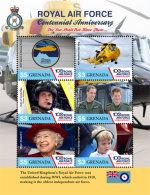 Grenada 2017 ROYAL AIR FORCE CENTENNIAL ANNIVERSARY I201803 - Grenada (1974-...)