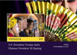 Grenada 2018 U.S. PRESIDENT TRUMP VISITS CHINESE PRESIDENT XI JINPING I201803 - Grenada (1974-...)