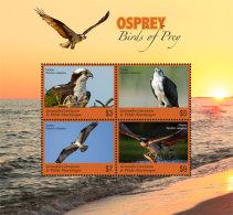 Grenada Grenadines 2017 BIRDS OF PREY I201803 - Grenada (1974-...)