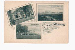 Makassar 1904 NICE OLD POSTCARD 2 Scans - Indonesia
