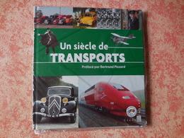 Livre Avec Timbres Un Siècle De Transport - Stamps