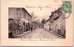 32 CASTERA LES BAINS - Grand Rue Prise De L'avenue D'auch - Castera
