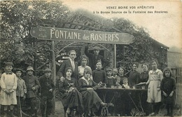 VAL D'OISE ARGENTEUIL  VENEZ BOIRE VOS APERETIFS A La Bonne Source De La Fontaine Des Rosieres - Argenteuil