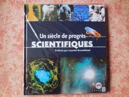 Livre Avec Timbres Un Siècle De Progrès Scientifique - Stamps