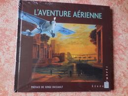 Livre Avec Timbres L'aventure Aérienne - Stamps