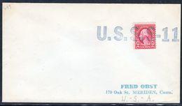"""US Navy, USS""""S-11""""  , 1933,great Cachet,  Look Scan, VERY RARE !! 12.3-59 - Duikboten"""