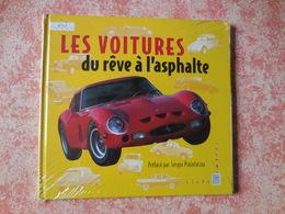 Livre Avec Timbres Les Voitures, Du Rêve à L'asphalte - Stamps