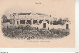 Chine-Long Tcheou-Consulat De France. - Chine