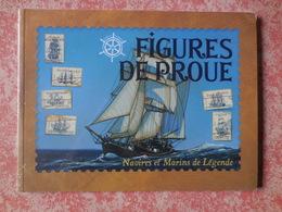 Livre Avec Timbres Figures De Proue Navires Et Marins De Légende - Stamps