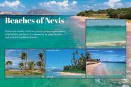 Nevis 2018 BEACHES OF NEVIS I201803 - St.Kitts And Nevis ( 1983-...)