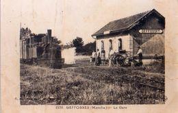 Photographie Kodak D'une Carte Postale, La Gare De Geffosses - Altri Comuni
