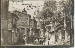 KONSTANTINOPEL / CONSTANTINOPLE : Strasse In STAMBUL / Rue Dans ISTAMBUL - Cachet Poste 1907 - Turquie
