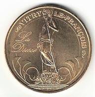 Monnaie De Paris 51.Vitry Le François - Salon De La Carte Postale  2008 - 2008