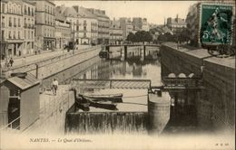 44 - NANTES - Quai D'Orléans - Cours Des 50 Otages - Nantes