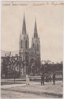CPA, Hongrie,szeged 1919,sud Est De Budapest,cofluent Tisza Et Du Maros,csongrad,Rokus Templom,église,rare - Hongrie