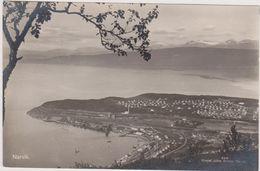 Carte Photo Norvège,NARVIK,cercle Polaire Arctique,bjerkvik,beisfjo Rd,skjomen,comté De Norland,bataille Navale 1940,rar - Norvège