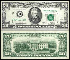 United States 20 DOLLARS 1969 Series C P 452d XF ( Etats-Unis, USA, Estados Unidos) - Federal Reserve Notes (1928-...)