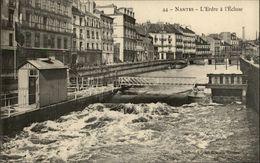 44 - NANTES - L'Erdre à L'Ecluse - Cours Des 50 Otages - - Nantes
