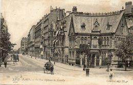 CPA - PARIS (75)(XVII°) - Aspect De La Rue Alphonse De Neuville En 1905 - Arrondissement: 17