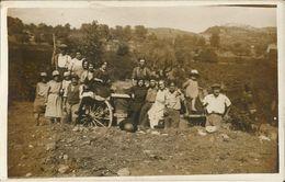 83-la Cadiére- 1 Cpa Carte Photo + 5 Photo-vendanges +travaux Dans Les Champs-rare (lire Description) - Autres Communes