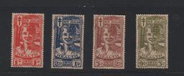 NEW ZEALAND 1931 Lachende Jongen 4 Zegels Met Gom Ongebruikt - 1907-1947 Dominion