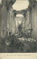 CPA Zonnebeke Eglise Détruite ~1915 #01 - Zonnebeke