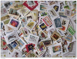 LOT 1000 GRAMMES TIMBRES COLLECTION ILES BRITANNIQUES MAN JERSEY GUERNESEY - Timbres