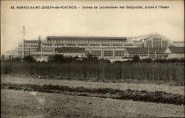 44 - NANTES - Saint Joseph De Portricq - Saint Joseph De Porterie - Usines Des Batignolles - Nantes