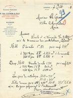 SOIGNIES : Tannerie-Corroierie G; Van Custem Et Fils - 1911 - Belgique