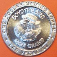 $1 Casino Token. MGM Grand, Las Vegas, NV. 1993, Boyd The Bird. H79. - Casino