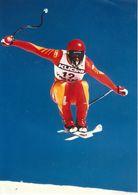 1621    FOTO   24 X 17  CM   DANIEL  MAHRER   WENGEN 1987   Schweizer Skirennfahrer. - Winter Sports