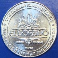 $1 Casino Token. Eldorado, Reno, NV. H79. - Casino