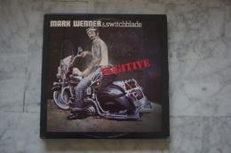 MARK WENNER & SWITCHBLADE FUGITIVE LP AMERICAIN   DE 1984 POCHETTE MOTO HARLEY DAVIDSON - Rock