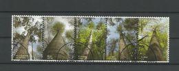 Belgium 2009 Forest Strip OCB 3951/3955 (0) - Belgium