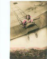 Enfants En Avion        S909 - Scene & Paesaggi