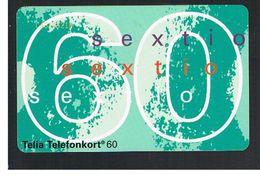 SVEZIA (SWEDEN) - TELIA  (CHIP) -  1994   NUMBER 60      - USED - RIF. 10040 - Sweden