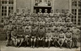 MILITARIA - Carte Photo Militaire - Soldats - 41 Inscrit Sur Casquette - Neuville-Vitasse 62 - Militaria