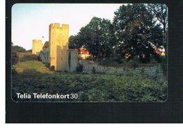 SVEZIA (SWEDEN) - TELIA  (CHIP) -  1995   GOTLAND WALLS     - USED - RIF. 10041 - Sweden