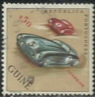 Portuguese Guinea Guiné 1962 Sports Common Design CD48 Automobile Race Canc - Cars
