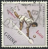 Portuguese Guinea Guiné 1962 Sports Common Design CD48 Tennis Canc - Tennis