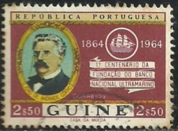 Portuguese Guinea Guiné 1964 National Overseas Bank Issu Common Design CD51 Joao De Andrade Corvo Canc - Joint Issues