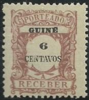 Portuguese Guinea Guiné 1921 Postage Due Stamps D2 MLH - Post