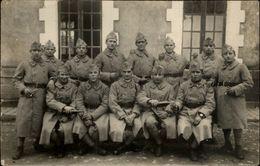 MILITARIA - Carte Photo Militaire - Soldats - 65 Inscrit Sur Jaquette - Militaria