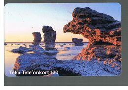 SVEZIA (SWEDEN) - TELIA  (CHIP) -  1995   MARINE LANDSCAPE    - USED - RIF. 10046 - Sweden
