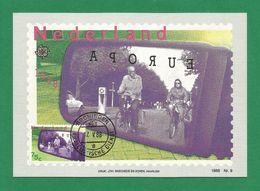 Nederland 1988  Mi.Nr. 1344 , EUROPA  CEPT - Transport- Und Kommunikationsmittel - Maximum Carte - 17.V.88 - Europa-CEPT