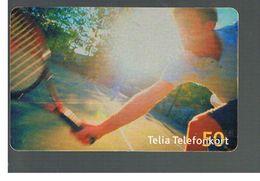 SVEZIA (SWEDEN) - TELIA  (CHIP) -  2006 TENNIS    - USED - RIF. 10046 - Sweden