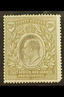 1903-4 20r Grey & Stone, Wmk Crown CC, SG 15, Mint, Corner Perf Fault, Cat.£800. For More Images, Please Visit Http://ww - Publishers