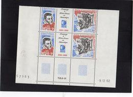 TAAF ,année 1993 (hommage à Météo France En Antarctique) Coin Daté Avec 2 Triptyques N° 183a** - Tierras Australes Y Antárticas Francesas (TAAF)