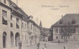 Schassburg Segesvar Sigisoara - Burgplatz 1916 - Romania