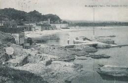 83 SAINT AYGULF  Jolie Vue Bord De MER  Le PORT Timbre 1926 - Saint-Aygulf